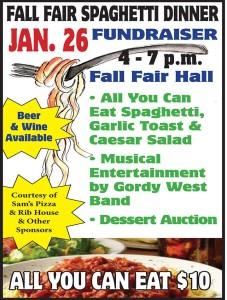 Fall Fair Spaghetti Dinner Fundraiser