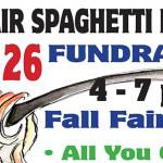 Fall Fair Spaghetti Dinner Fundraiser Jan 26th
