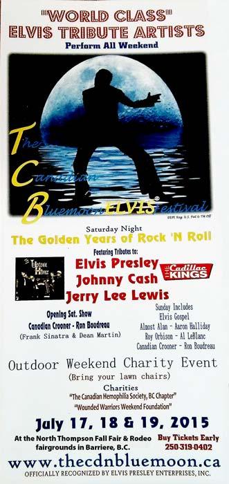 Blue Moon Elvis Tribute