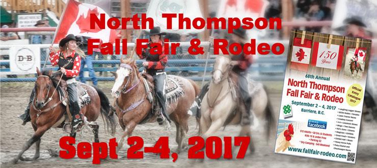 2017 North Thompson Fall Fair & Rodeo