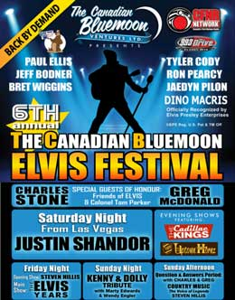 The Canadian Blu​emoon ELVIS® Festival