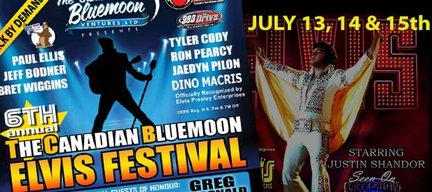 The Canadian Blu​emoon ELVIS Festival