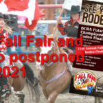 Fall Fair Postponded until 2021