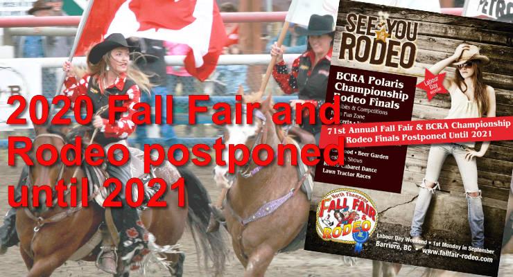 2020 Fall Fair and Rodeo postponed until 2021